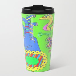 Pipehead's Neon Abode Travel Mug