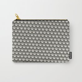 Pattern of white spheres Carry-All Pouch