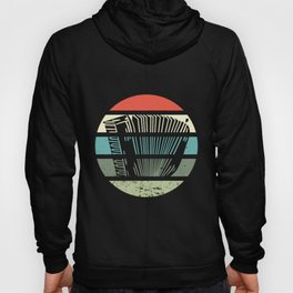Accordion Music Player Musician Vintage Funny Gift Hoody