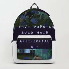 Pups and Bold Hair Backpack