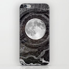 Moon Glow iPhone Skin