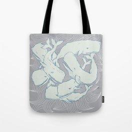 Silent Swim Tote Bag