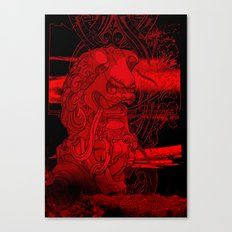 City of Dragon Canvas Print