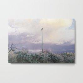 Electricity pole Metal Print