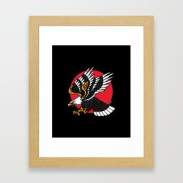 EAGLE II Framed Art Print