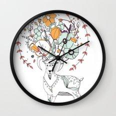 like a halo around your head Wall Clock