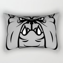 hand dog Rectangular Pillow