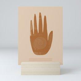 Hand, Boho hand, Southwestern decor Mini Art Print