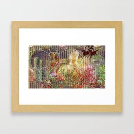 The Relative Frequency of the Causes of Breakage of Plate Glass Windows Framed Art Print