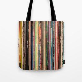 Alternative Rock Vinyl Records Tote Bag