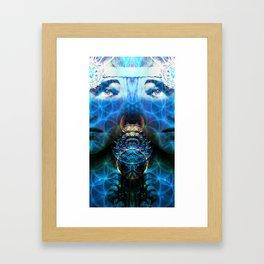 GODDESS GEOMETRY  Framed Art Print