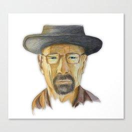 Heisenberg Drawing Canvas Print