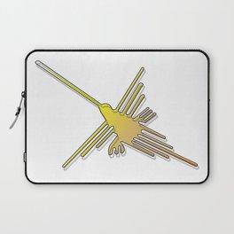 Nazca Lines Hummingbird Laptop Sleeve