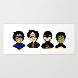 Batboys Art Print