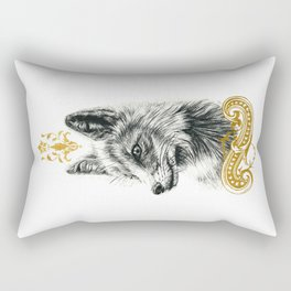 Beasts of the forest: Fox Rectangular Pillow