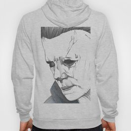 Happy Halloween, Michael Myers Portrait Hoody