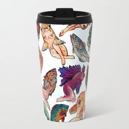 Reverse Mermaids Travel Mug