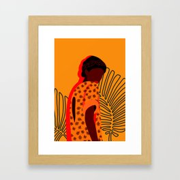 SHADES OF YELLOW (stand out, do not merge) Framed Art Print