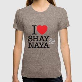 I Heart Shay & Naya T-shirt