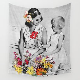 Plantae Wash Out Wall Tapestry