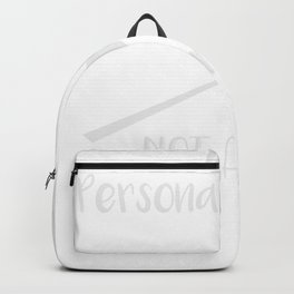 FItness Personal Trainer Not a Magician Backpack