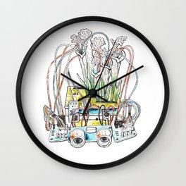 Majorana Plicata Wall Clock