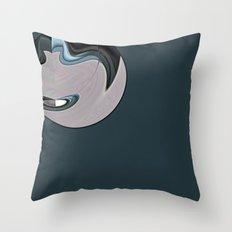 Silver bullet Throw Pillow