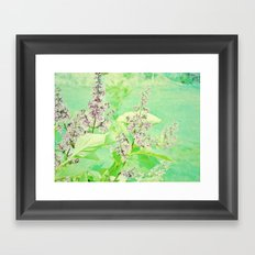 lover's paradise Framed Art Print