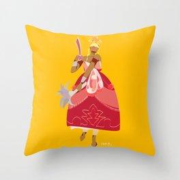 ORIXAS_ iansã Throw Pillow