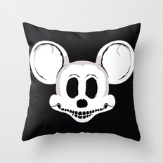 DEADMOUSE Throw Pillow