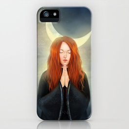 Under The Half Moon iPhone Case