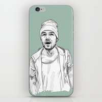 liam payne iPhone & iPod Skins featuring Liam Payne  by Cécile Pellerin