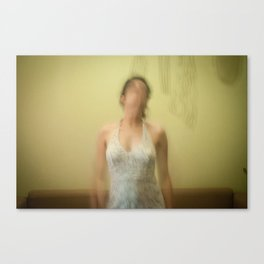 faceless woman Canvas Print