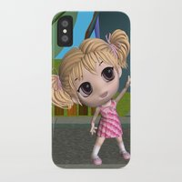 chibi iPhone & iPod Cases featuring Chibi Girl by ChibiGirl