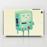 video games iPad Cases featuring Who Wants To Play Video Games? by Nan Lawson