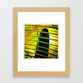 Number 1 Fan Framed Art Print