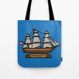 Anchor Pixel Tote Bag