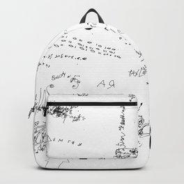 Night drawings Backpack