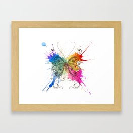 Colorful Butterfly Framed Art Print