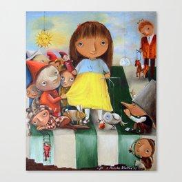 Julianna's Theater Canvas Print