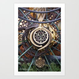 World Bridger Art Print