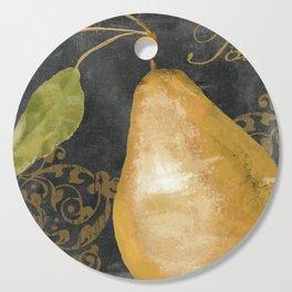 Melange Pear Cutting Board