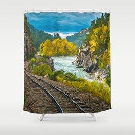 Durango Silverton Railroad Shower Curtain