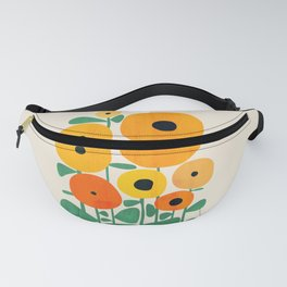 Sunflower and Bee Fanny Pack