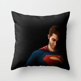 SuperHoech Throw Pillow