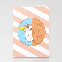 fat Stationery Cards featuring Fat Fat Peeks by Fat Fat