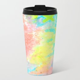 Ice Cream ABCs Metal Travel Mug