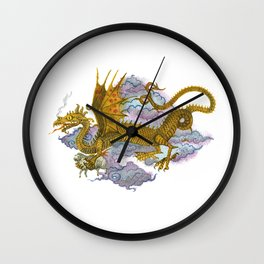 Dragon the Thief Wall Clock