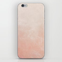 Peachy Ombre iPhone Skin