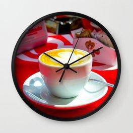 capuccino Wall Clock